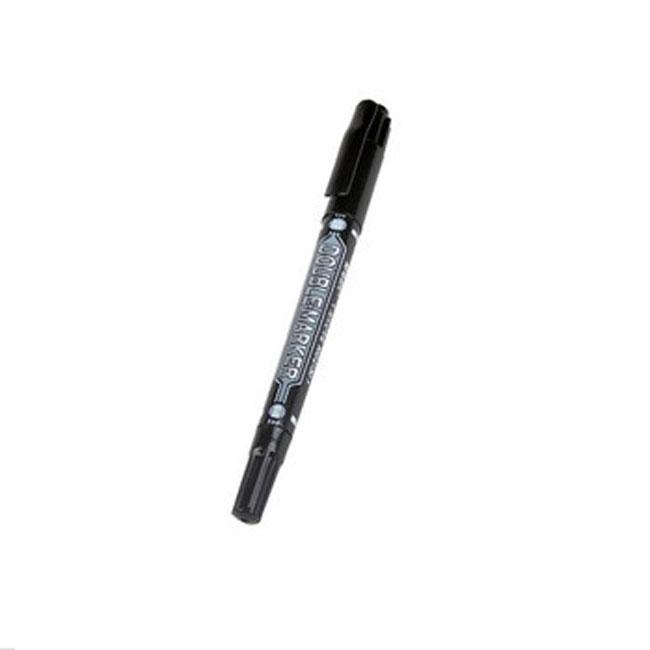 晨光MG-2130 黑色小双头记号笔