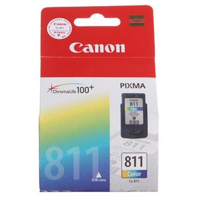 佳能CL-811彩色墨盒(适用Canon PIXMA MP245 268 486 MX328)