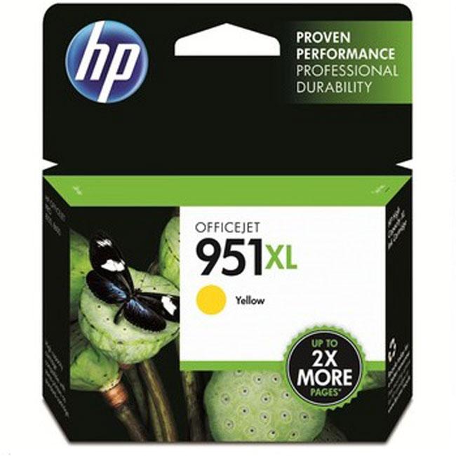 惠普CN048AA(951XL)黄色墨盒(适用HP 8600plus 8100)