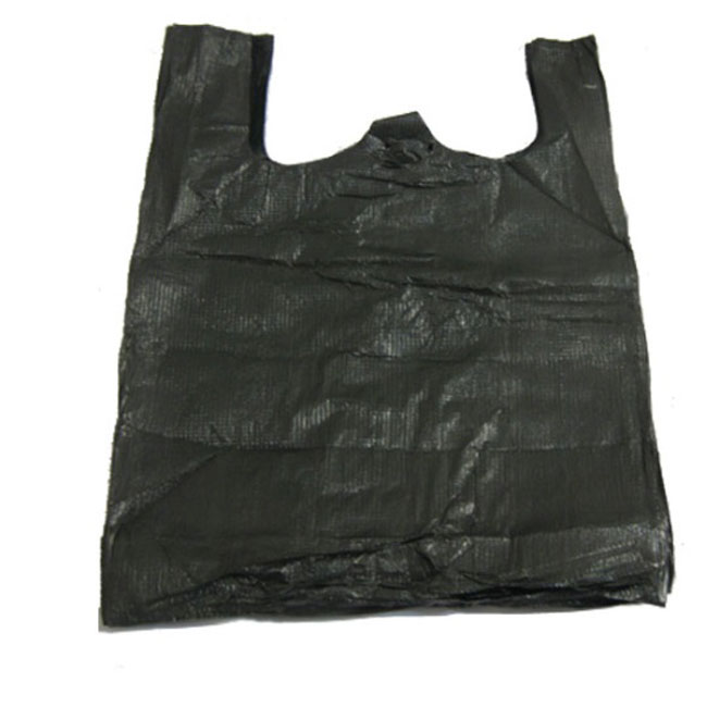 中号加厚背心垃圾袋 黑色 34#