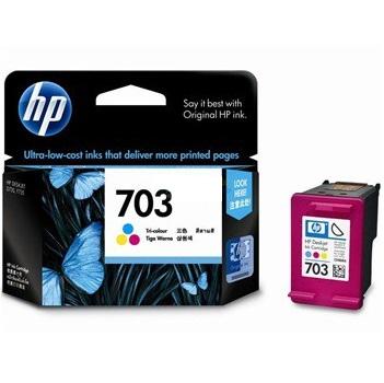 惠普CD888AA(703)彩色墨盒(适用HP DJ F735 D730 K109a/g K209a/g Photosmart K510a)