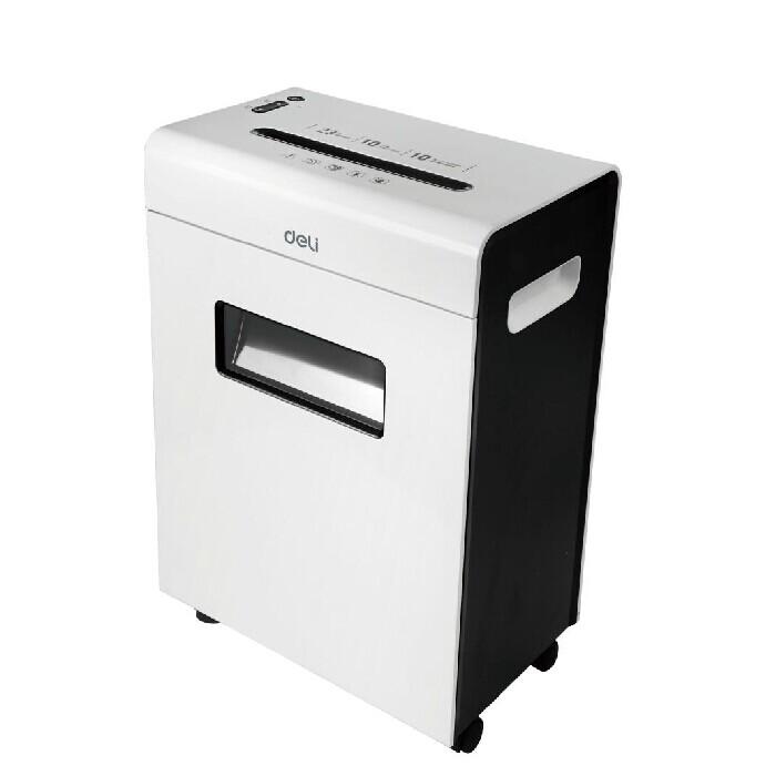 得力9902平板系列大容量碎纸机 可碎信用卡