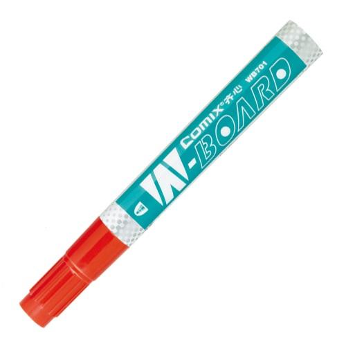 齐心 WB701 超深色油墨 易擦白板笔 红色