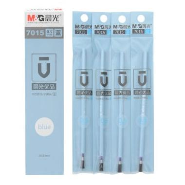 晨光 7015 优品子弹头中性笔芯 0.5mm 蓝色