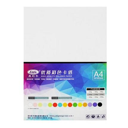 埃克曼彩喷白卡纸A4 250克  50张装