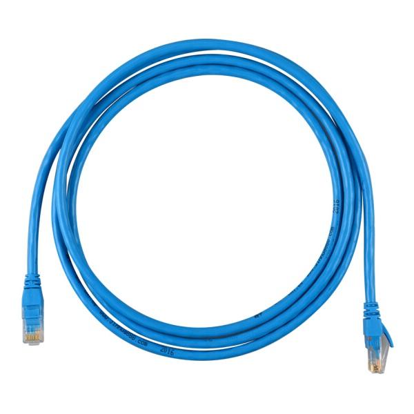 晶华 0543 超五类网线 原装网络连接线 蓝色 3米