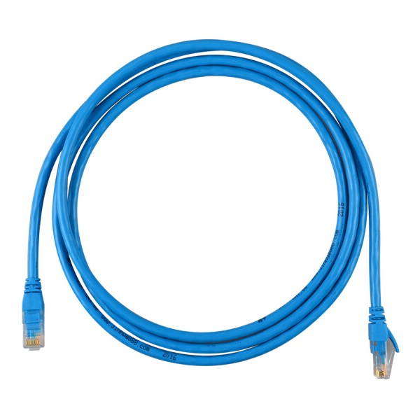 晶华 0542 超五类网线 原装网络连接线 蓝色 2米