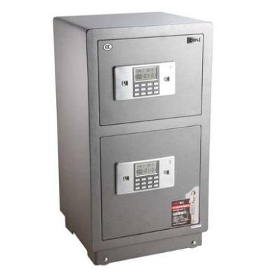 得力 3616 电子防盗全钢保险柜 3C认证 H810 高730mm×宽430mm×深380mm 双层