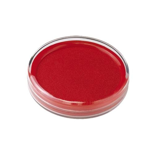 齐心 B3716 透明快干 印台 红色 φ85mm 中号