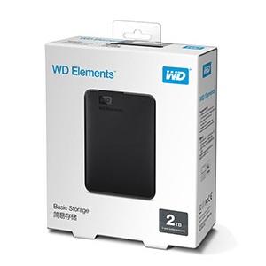 西部数据 2.5英寸 USB3.0 移动硬盘 2TB