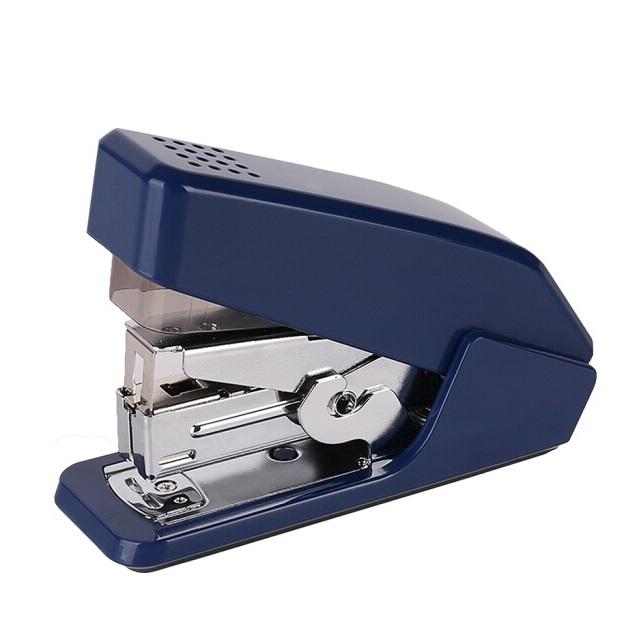 得力0467商务耐用 省力订书机 可订20张 24/6 双杠杆超省力!