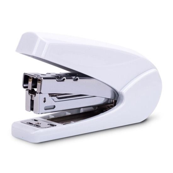 得力0429时尚炫彩 省力订书机 可订20张 24/6 双杠杆超省力!
