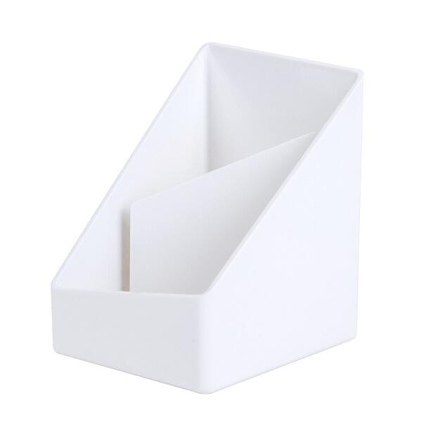 得力8911 乐素系列 多功能创意笔筒 白色