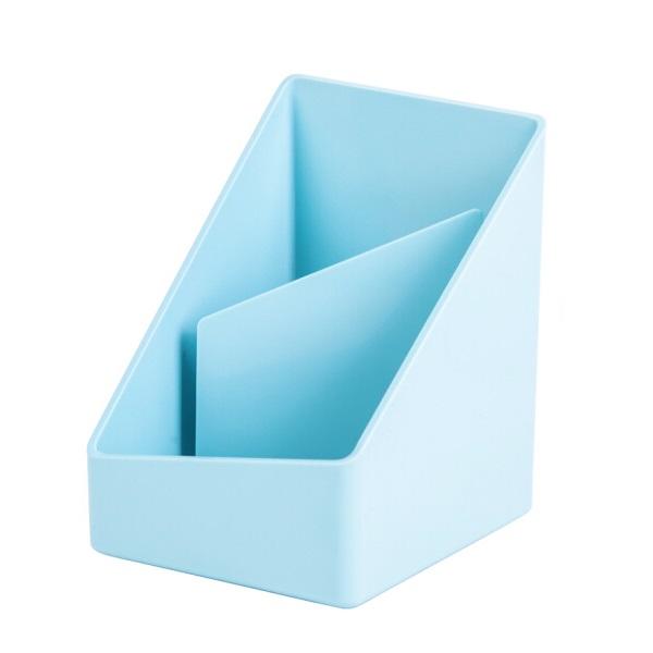 得力8911 乐素系列 多功能创意笔筒 浅蓝