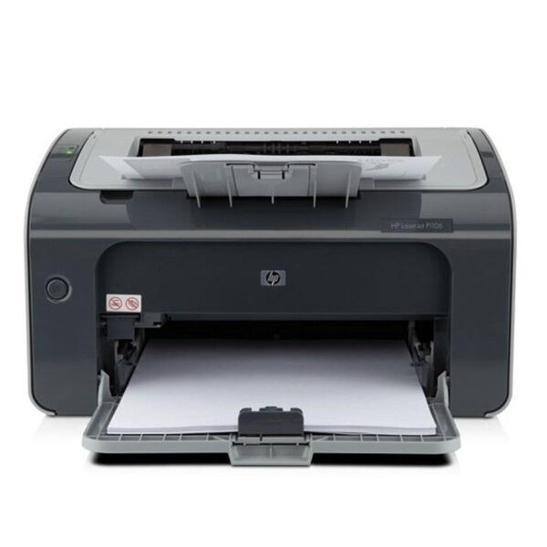 惠普(HP)P1106 黑白激光打印机 A4 USB打印 小型商用机