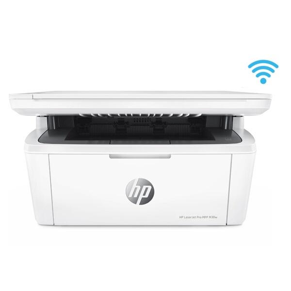 惠普(HP)M30w  黑白激光 一体机 A4 三合一(打印 复印 扫描)无线打印