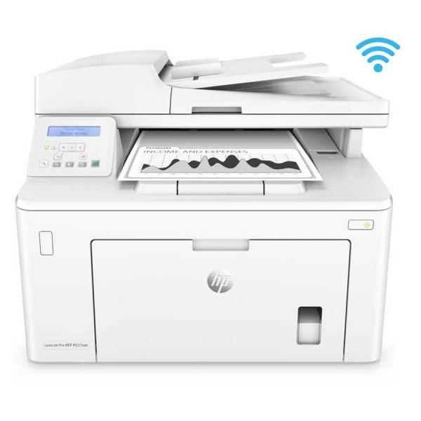 惠普(HP)M227sdn 黑白激光一体机 A4 三合一(打印 复印 扫描)无线打印 网络打印 自动双面打印