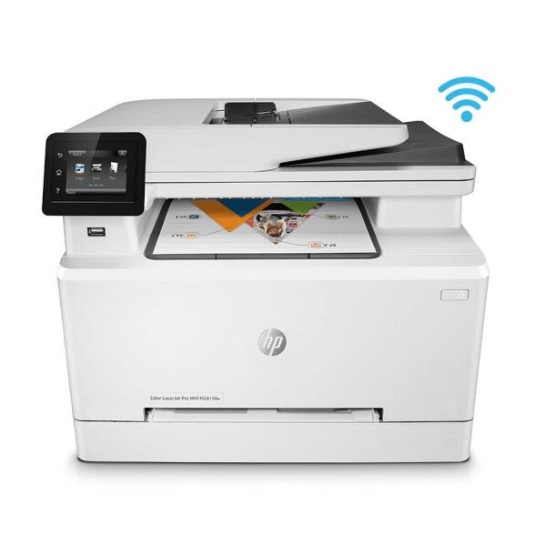 惠普(HP)M281fdw 彩色激光 一体机 A4 四合一(打印 复印 扫描 传真) 无线打印 网络打印  自动双面打印