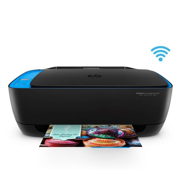 惠普(HP)HP4729 彩色喷墨 一体机 A4 三合一(打印 复印 扫描)无线打印