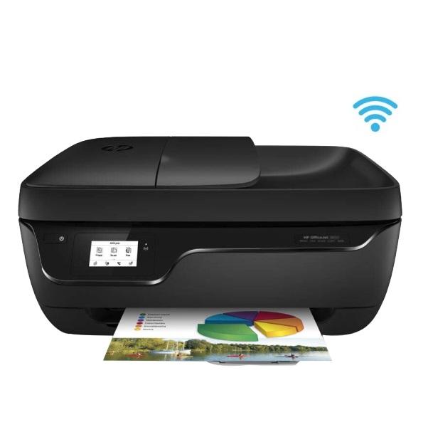 惠普(HP)HP3838 彩色喷墨 一体机 A4 四合一(打印 复印 扫描 传真)无线打印