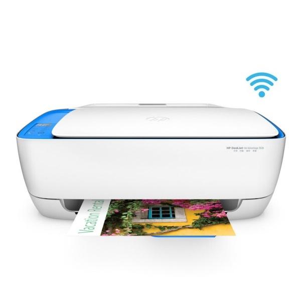 惠普(HP)HP3638 彩色喷墨 一体机 A4 三合一(打印 复印 扫描)无线打印