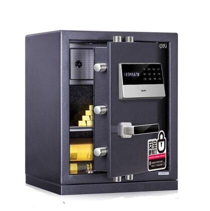 得力 3653A 电子防盗全钢保管箱 H480 高480mm×宽380mm×深320mm