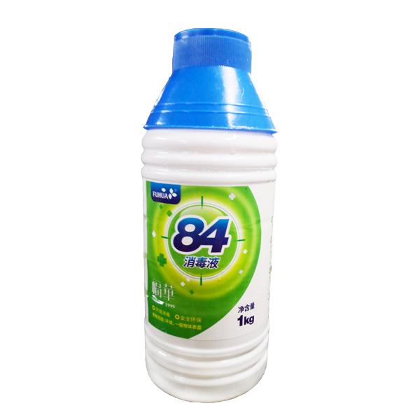 福华84消毒液1000ml 有效杀菌99.99%  消毒、洁净、除臭、不伤皮肤和衣物