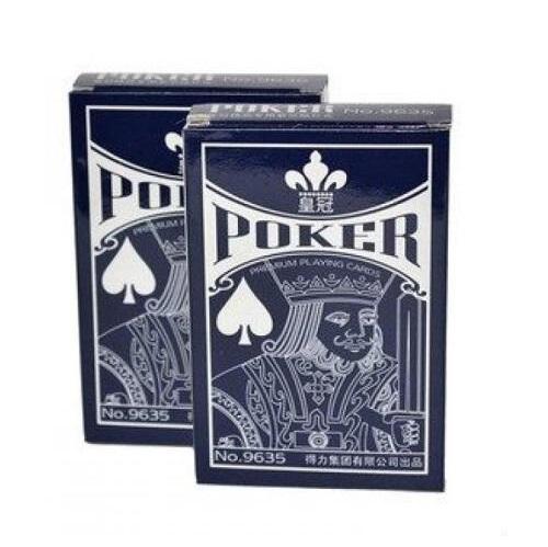 得力 9635 皇冠扑克牌