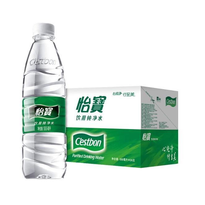 怡宝 饮用纯净水 555ml×24瓶