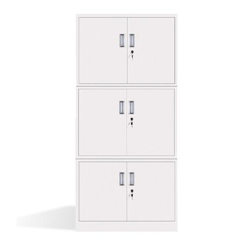 长城 亚光 加厚型 分体式 三节柜