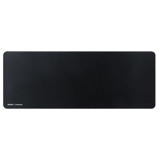 得力 83002 锁边防水 超大型 键盘鼠标垫 800mm×300mm 黑色