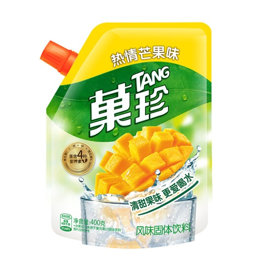 卡夫果珍 热情芒果味 壶嘴装 400克