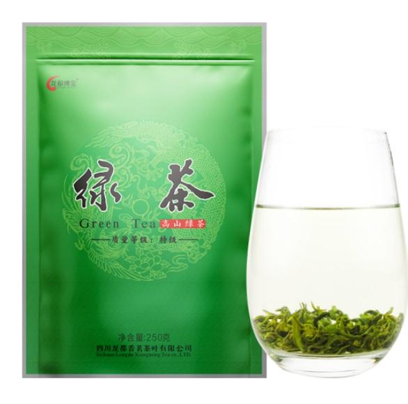 龙都 250克 特级绿茶