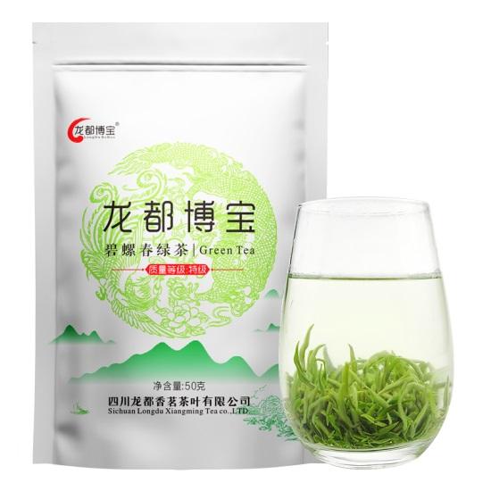 龙都 50克 碧螺春绿茶