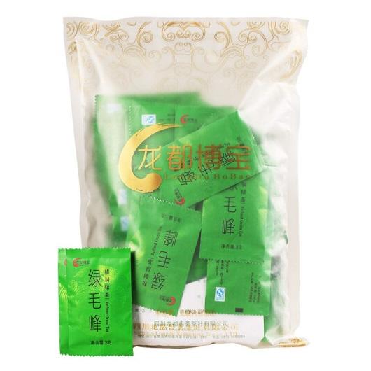 龙都 绿毛峰 独立包装 3克x84袋