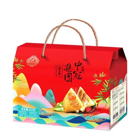 中冠 喜乐粽 端午粽蛋礼盒810g