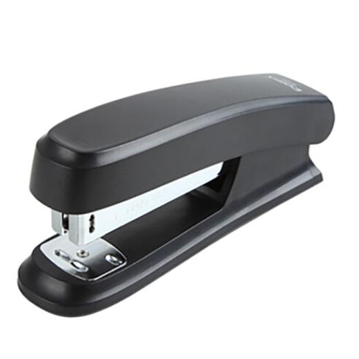 齐心 B2982 舒适耐用 标准订书机 24/6 可订20页 黑色