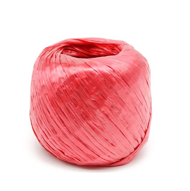 聚丙烯 小号 红色 塑料捆扎绳 打包绳  单重30g 长约30米